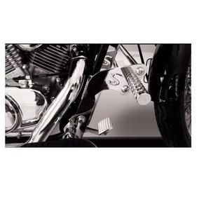 Protetor De Motor Slider Com Pedaleira Cromado Shadow 600