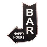 Placa Decorativa - Bar Happy Hours