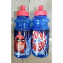 Fiesta Angry Birds Botella Deportiva Como Recuerdo Dulcero