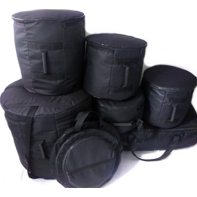 Kit Bag Bateria 7 Peças Extra Luxo