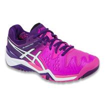 Tênis Asics Gel Resolution 6 - All Court - Hot Pink - Purple