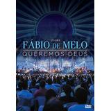 Dvd Padre Fábio De Melo - Queremos Deus (original E Lacrado)