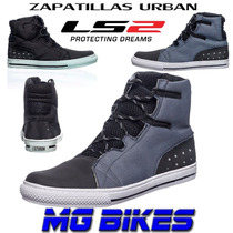 Botas Zapatilla Ls2 Sneakers Urban Con Proteccion Mg Bikes