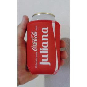 Porta Lata Personalizado Com Seu Nome Cocacola
