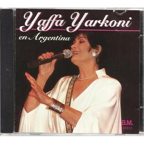 Cd Yaffa Yarkoni En Argentina Em Espanhol E Hebraico Import
