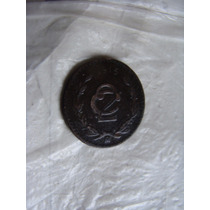 Moneda De 2 Centavos , Año 1915 , Mas Pequeña
