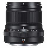 Lente Fujifilm Xf50 Mm F2 R Wr Black