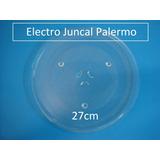 Plato De Microondas Whirpool-sanyo-atma 27 Cm De Ø