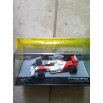Carrinho Formula1 Lendas Brasileiras Mclaren Mp4/4 A. Senna