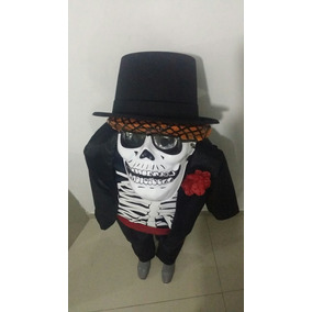 Disfraz Catrin Muerte Niño Dia De Muertos