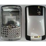 Carcasa Blackberry Curve 8300 8310 8320 8330 Gris Plata