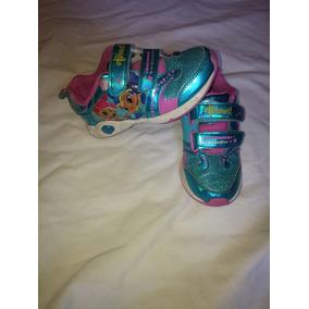 Zapatillas Con Luces Importadas Para Nenas
