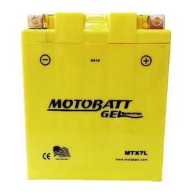 Bateria Gel Motobatt 7 Ah 105 Cca Mtx7l Cb600/cg150/titan/f