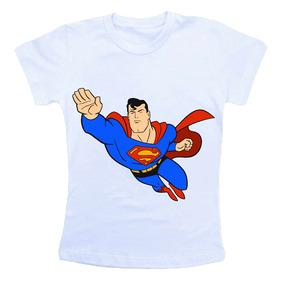 Camiseta Infantil Personalizada Superman Super Homem Cm327