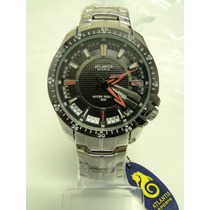 Relógio Masculino Atlantis Esportivo Prata
