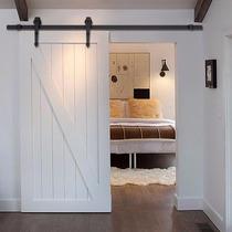 Riel Instalacion Puerta Moderna Corrediza Casa Habitacion