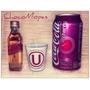 Red Label + Vaso Shot U + Coca Cola Cherry - Y Dale U