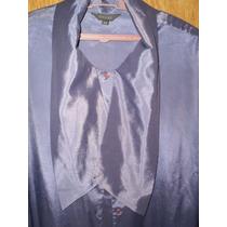 Viento&marea-camisa M/l Seda Y Poliamida Gris T/44