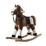 Juguete Qaba Niños De La Felpa Del Caballo Mecedora Pony W