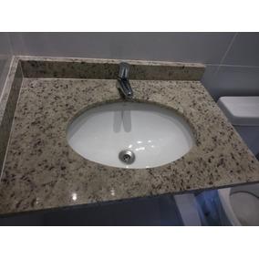 Pia De Granito Para Banheiro Com Torneira Deca Nunca Usada