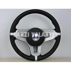 Volante Esportivo Mustang Fiesta Ka Escort Ecosport Prata