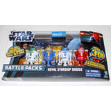 Star Wars Battle Pack Royal Starship Droids R2d2 Nuevo