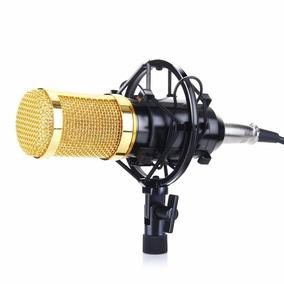 Microfono De Estudio De Grabacion Condensador Con Montante