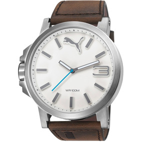 Reloj Puma Ultrasize Hombre Leather Pu103461016 | Watchito
