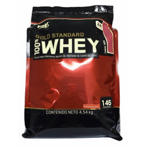 Proteina Gold Standard 100% Whey 10 Lb Sabor Fresa