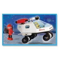 Playmobil Nave Espacial Con Muñecos Original Antex