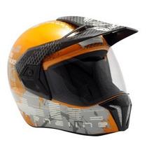 Capacete Bieffe 3 Sport Dakar Adrenaline Laranja Nº58