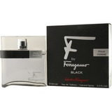 Perfume F By Ferragamo Black By Salvatore Ferragamo 3.4 Oz
