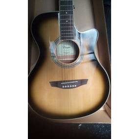 Guitarra Electrocustica Parquer C/ Eq Y Afinador H/ Agotar