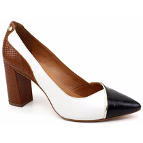 Sapato Scarpin Feminino Jorge Bischoff 41124001 Loja Pixolé