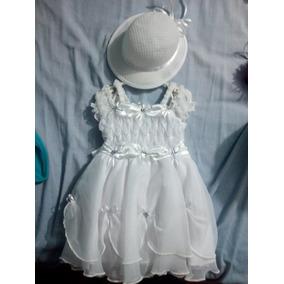 Vendo Vestido Bautizo Con Su Sombrero