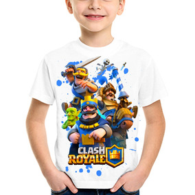 Clash Royale Remeras Blancas