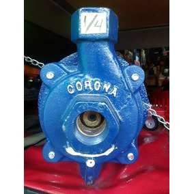Bomba Para Agua De 1/4hp Corona Con Motor Siemens 18mes. Gar
