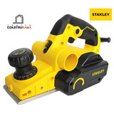 Cepillo Electrico Madera Stanley 2mm 750w 16500rpm 3 Canales