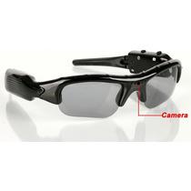 Óculos De Sol Espião Filmadora Com Defeito