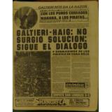 Diario Cronica, Malvinas 11 Abril De 1982, Los Andes