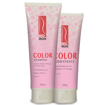 Kit Color Red Iron / Raiz Oleosa = Shampoo + Hidratante
