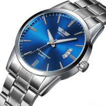 Relógio Swidu Ñ Réplic Masculino Luxo Aço Inox