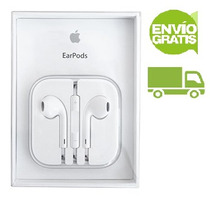 Envio Gratis Audifonos Earpods Iphone 5 Y 6 100% Originales