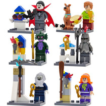 Scooby Doo Sw3 Shaggy Vampiro Lagarto Compatible Con Lego