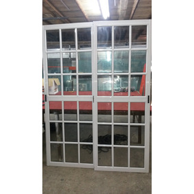 Puerta Ventana Balcon V4mm 200x200 Vidrio Repartido