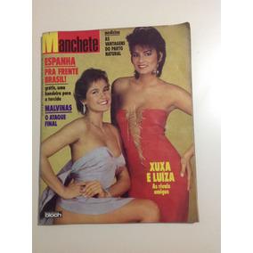 Revista Manchete Xuxa Brunet Seleção Brasileira Espanha1982