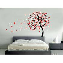 Vinilo Pared Arbol 2 Colores Bis Decoracion Wall Stickers