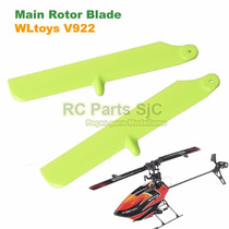 Pás Rotor Hélices Main Blades Verde Helicoptero V922 Wltoys