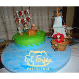 Tortas Decoradas Infantiles De Jake El Pirata