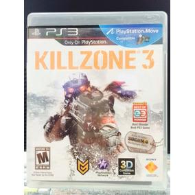 Jogo Killzone 3 Playstation 3, Original, Novo, Lacrado